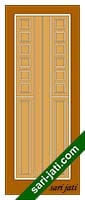 Solid Flat Panel Door Design
