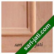 Detil Pintu Panel Solid Raised Kamper