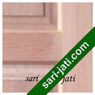 Detil Pintu Panel Solid Raised Standar Kamper