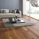 solid wood flooring in living room