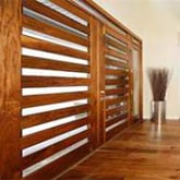 horizontal grille door