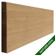 Solid champor wood or kamper wood base moulding or skirting BM 15110