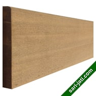 Solid champor wood or kamper wood base moulding or skirting BM 1590